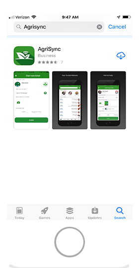 AgriSync Download the App
