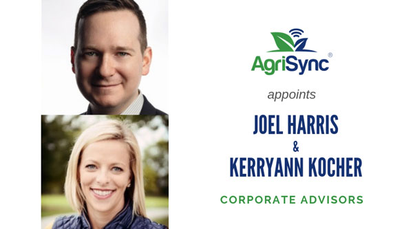 Kerryann Kocher and Joel Harris Join AgriSync as Advisors