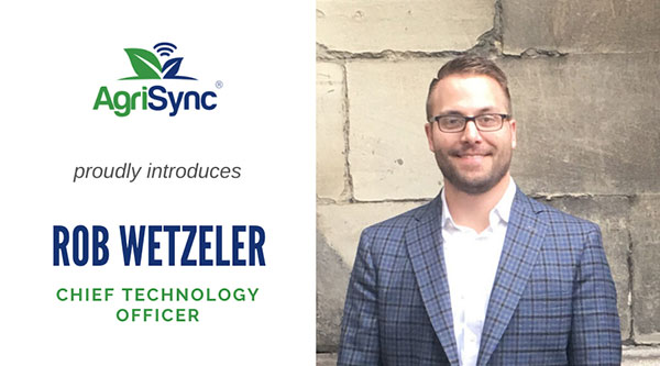 AgriSync hires Rob Wetzeler as its CTO