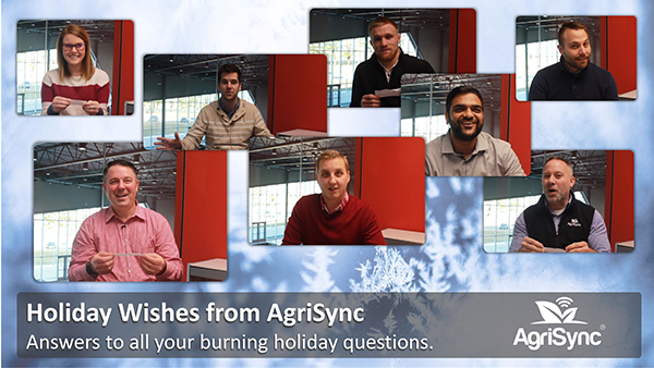 Seasons Greetings + Holiday Wishes from AgriSync