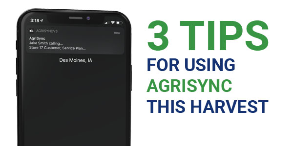 3 Tips for Using AgriSync this Harvest